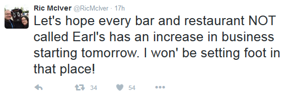 McIver Earls Tweet